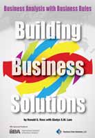 Building Business Solutions: Business Analysis with Business Rules